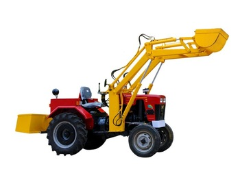Front end Loader on Mini Tractor