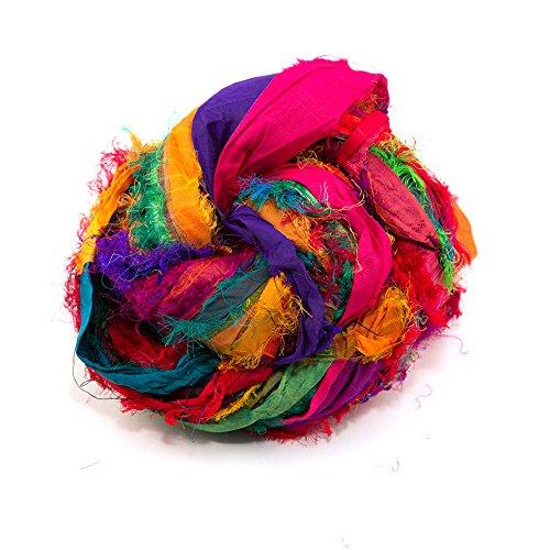 Sari Silk Ribbon: Rainbow