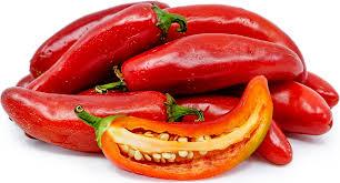 Fresh Red Jalapeno Pepper