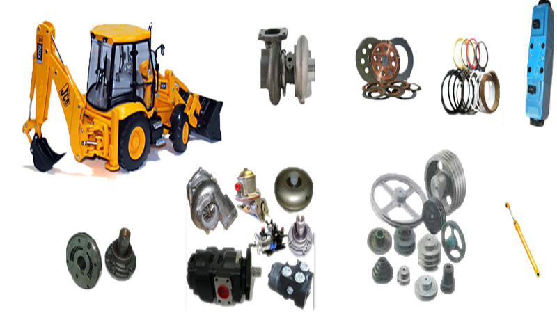 Jcb Spare Parts - PLANETARY HUB Manufacturer in Haryana