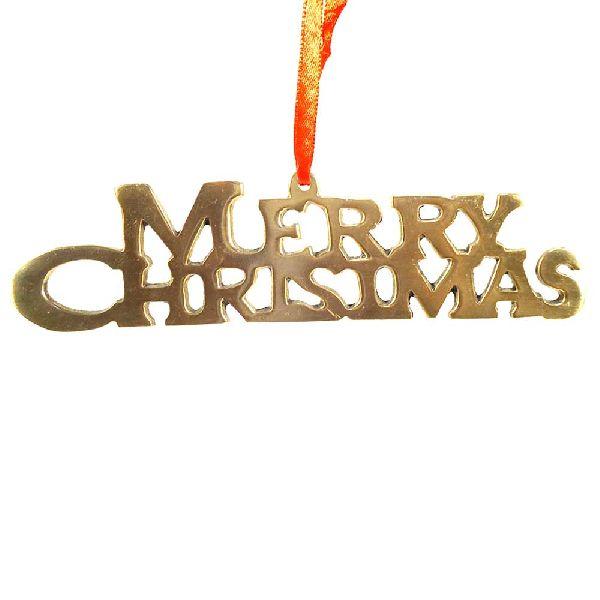 Alluminium Hanging (Merry Christmas)