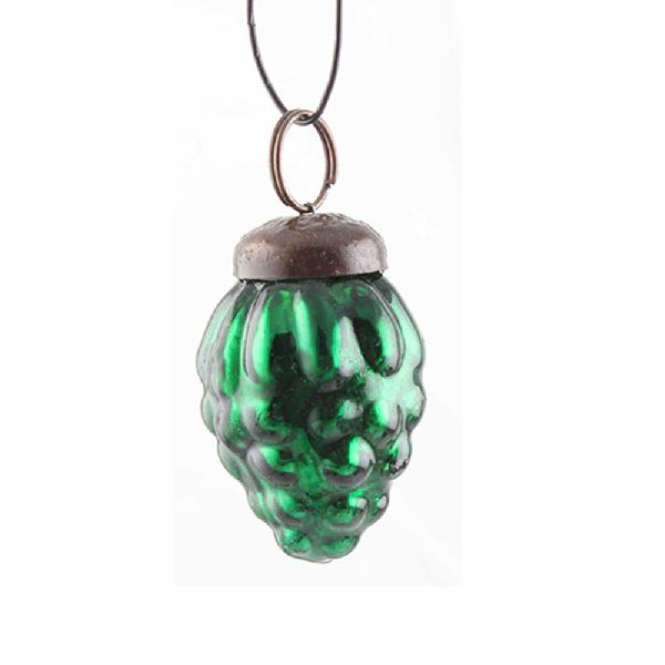 Antique Green Tiny Christmas Hanging