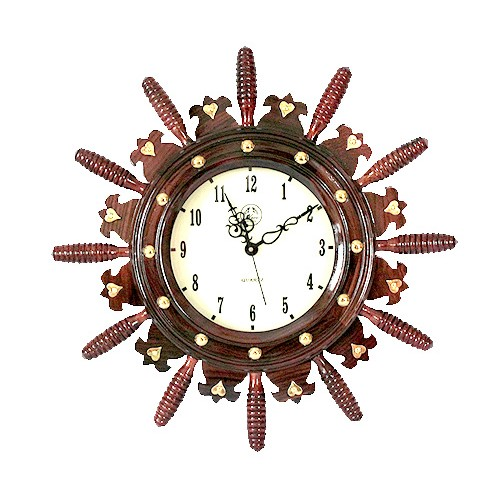 Antique Rosewood Wall Clock (41 Cms)