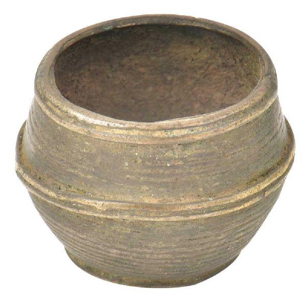 Brass Dhokra Tribe Measure Bowl