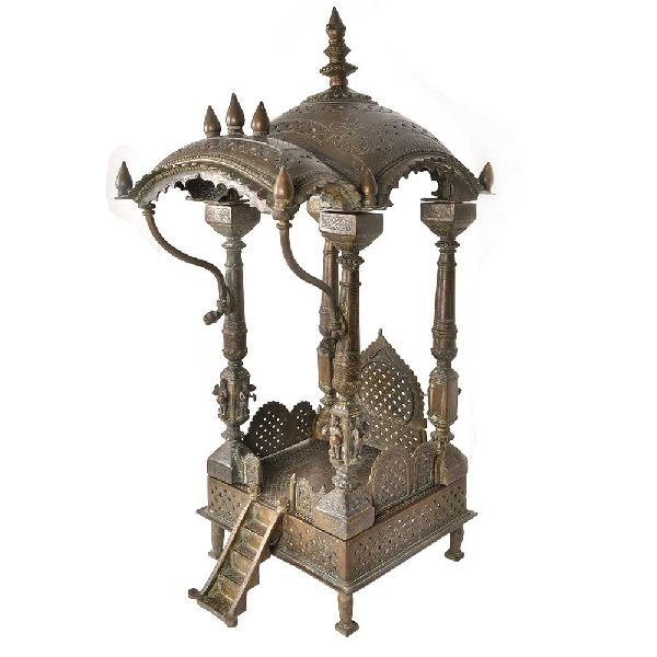 Brass Hindu Temple