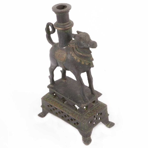 Bronze Vintage Bull Pen Stand