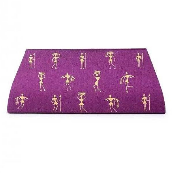 Cotton Silk Clutch bag for Women