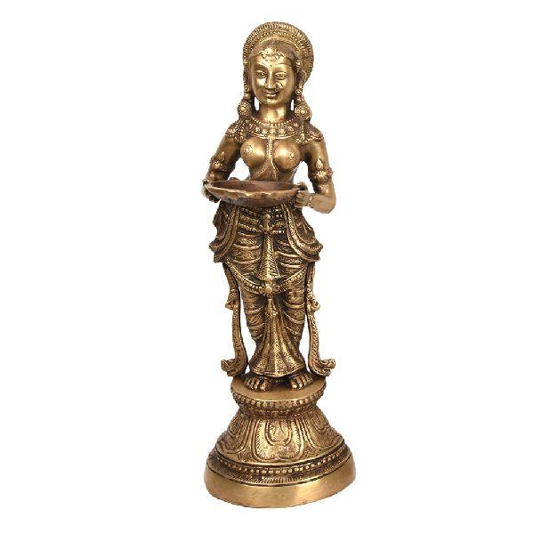Paavai Vilakku Bronze Lamp
