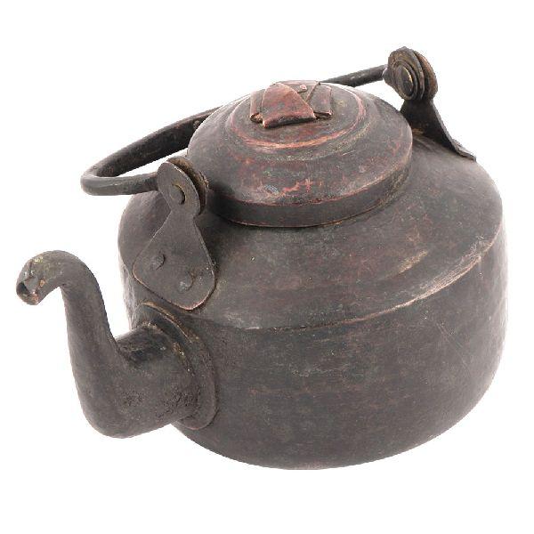 Vintage Simple Design Copper Teapot