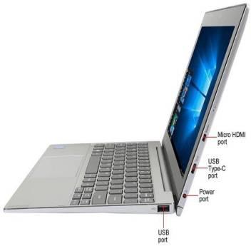 Lenovo MIIX 320 Atom - (4 GB/128 GB EMMC Storage/Windows 10 Home) 80XF00DFIN 2 in 1 Laptop  (10.1 in