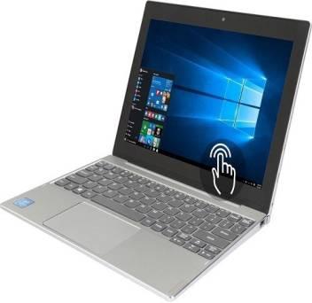Lenovo MIIX 320 Atom - (4 GB/128 GB EMMC Storage/Windows 10 Home) 80XF00DFIN 2 in 1 Laptop  (10.1 in (MIIX 320)