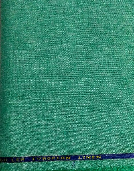 Brand NS Fabric100% Pure Natural Linen Lea 60*60 Shirting Fabric (NS-5022)