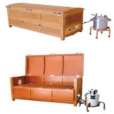 Wooden Box Type Sarvang Vashpa Swedan Yantra With Steam Generator