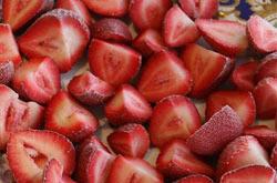 Frozen Cut Strawberries