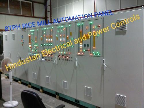 Rice Mill Automation Control Panel
