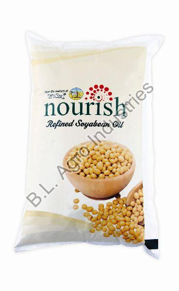 Nourish Pouch Refined Soyabean Oil