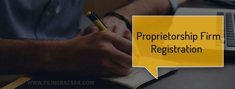 Proprietorship Firm Registration Services