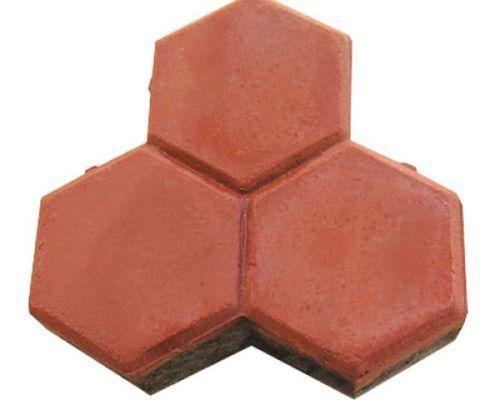 Trihex Shaped Interlocking Tiles