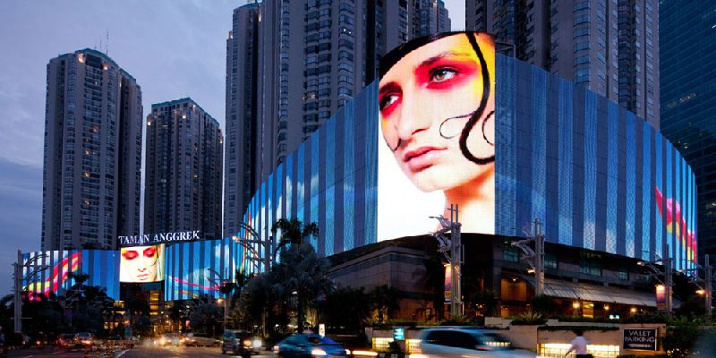 Architectural LED Media Facade Display Screen (SH-56-6)