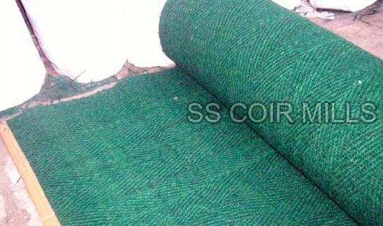 Coir Cricket Matting (GREEN)
