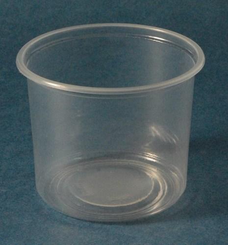 Plastic Round Transparent Container