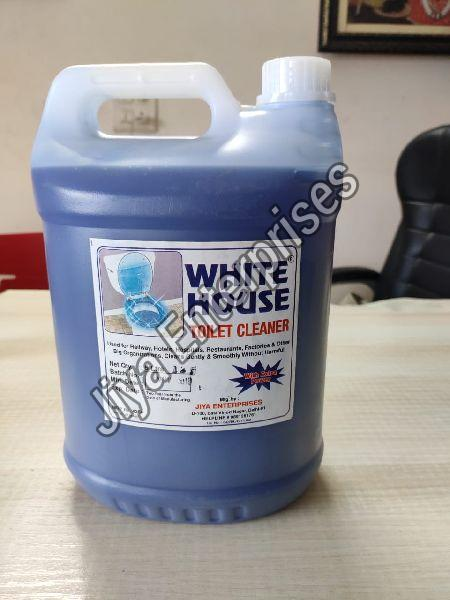 White House Toilet Cleaner Can