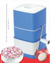 PP Plastic manual vegetable and onion chopper