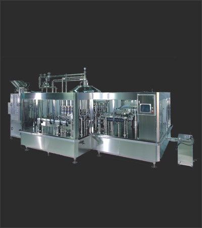 Automatic PET Bottles Rinser Filler Capper Machine