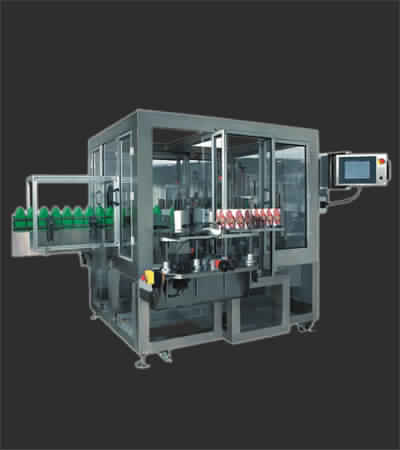 CE Back Labeler machine