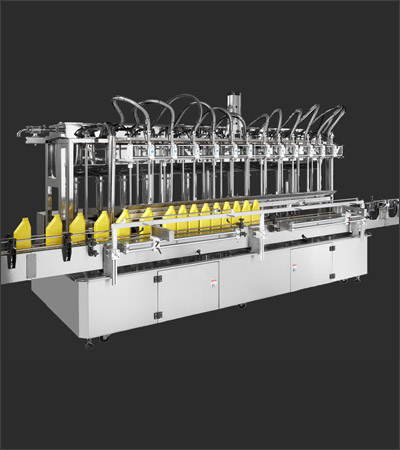 Twelve Nozzle Auto Filling Machine (with Spiral Pump)