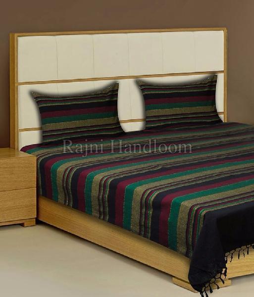 Rajni Handloom Double Bed Sheet Manufacturer in Baghpat Uttar