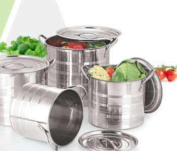 Stock Pots, Steamers
