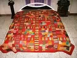 Vintage Embroidered bedspreads