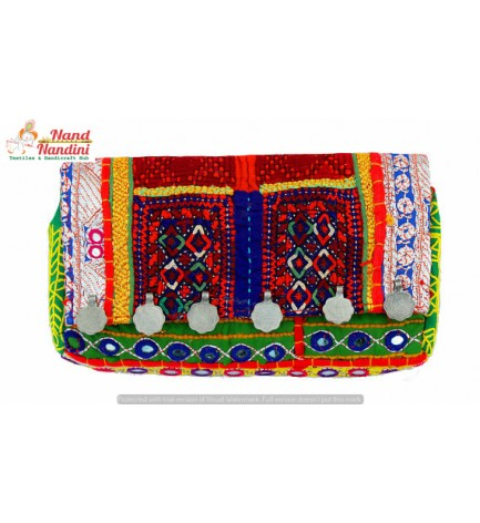 INDIAN BOHEMIAN EMROIDERED VINTAGE SHOULDER BAG