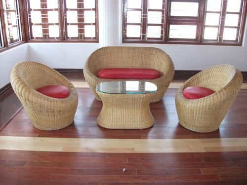 Apple Cane Sofa Set