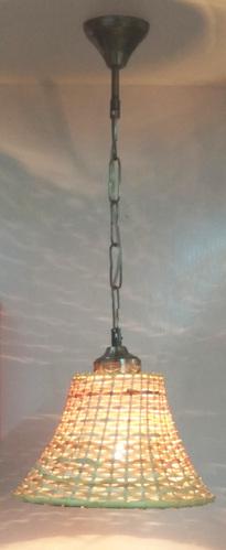 Cane Hanging Lamp