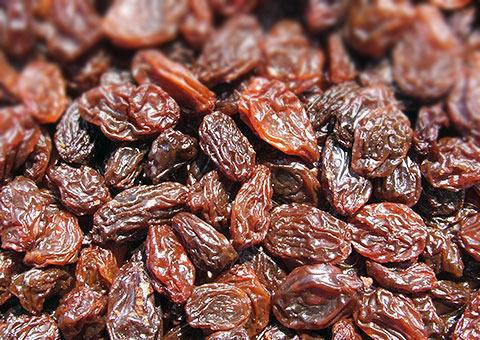 Natural Brown Raisin