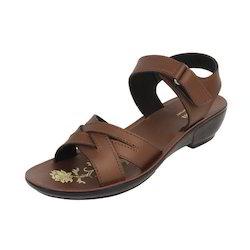 Ladies Real PU Sandals