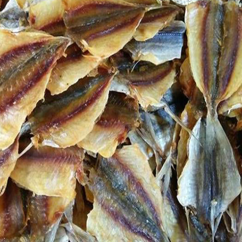 Dried yellow tail scad