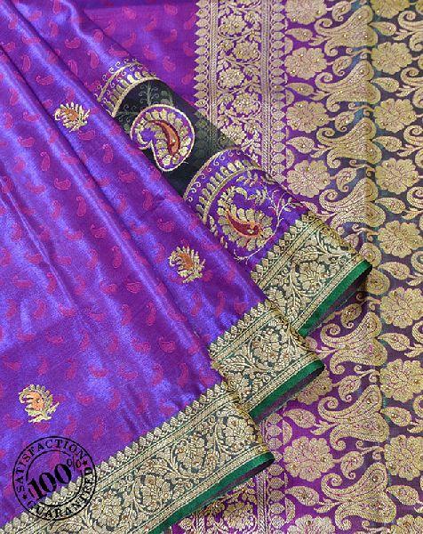 Zari Weaving Banarasi Saree