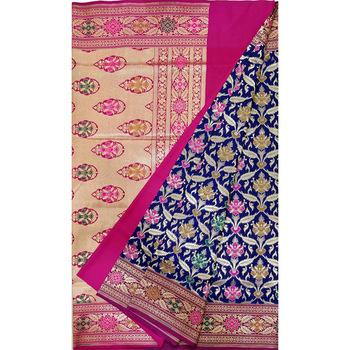 Zari Work Banarasi Katan Silk Saree