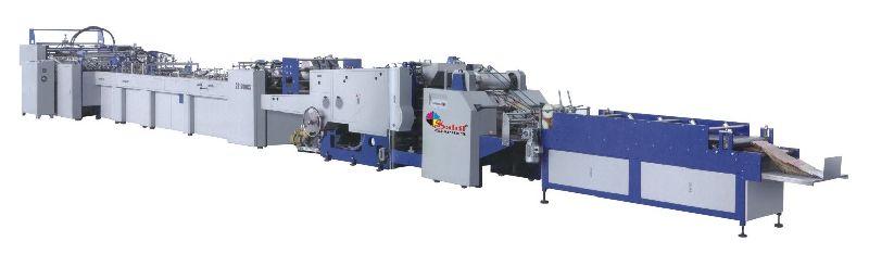 Fully Automatic Sheet Feeding Paper Box Bag Making Machine (SG 1200CS-430)