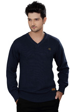 Cotton Mens V-Neck Sweater