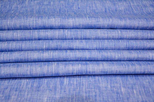 Brand NS Fabric 100% Pure Linen Lea-60*60 Unstiched Shirting Fabric (NS-10236)