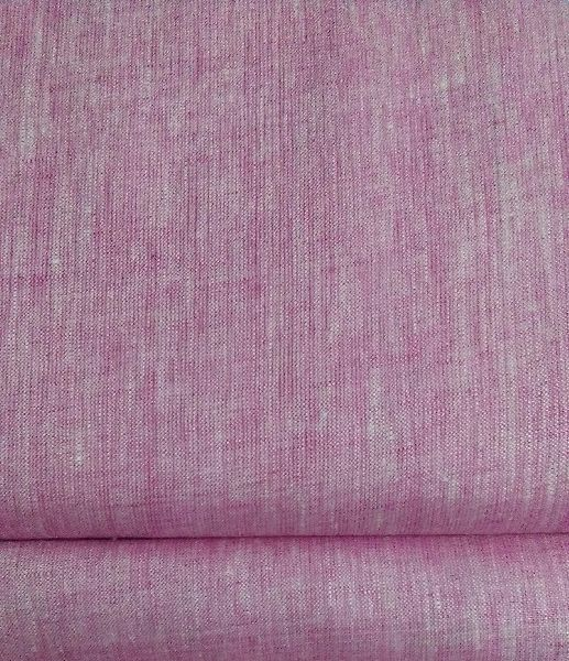 Brand NS Fabric Purple Linen Lea-60 shirting Fabric (NS-522)