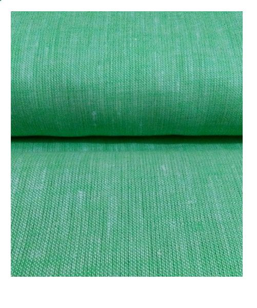 NS Fabric Ice green Linen Lea-60 Unstitched Shirting Fabric (NS-524)