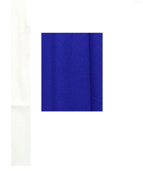 NS Fabric Royal Blue Linen Cotton Unstiched Shirt Fabric (NS-P103)