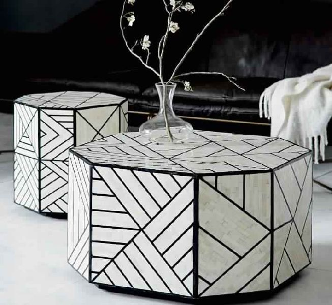 Surprising Bone Inlaid Side Table Manufacturer In Delhi India By Zailem Dailytribune Chair Design For Home Dailytribuneorg