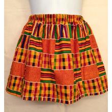 African Ankara Kente printed Mini Skirt