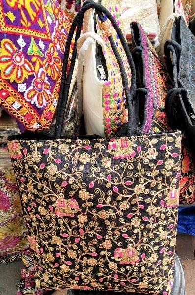 Handmade Embroidered Handbag